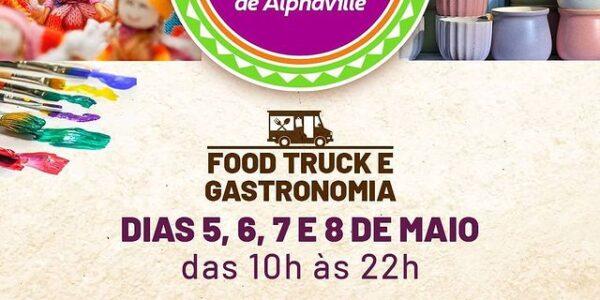 Feira de Artes e Gastronomia de Alphaville acontece até sábado