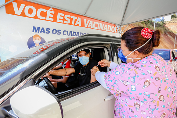Dia D de segunda dose de Vacina covid