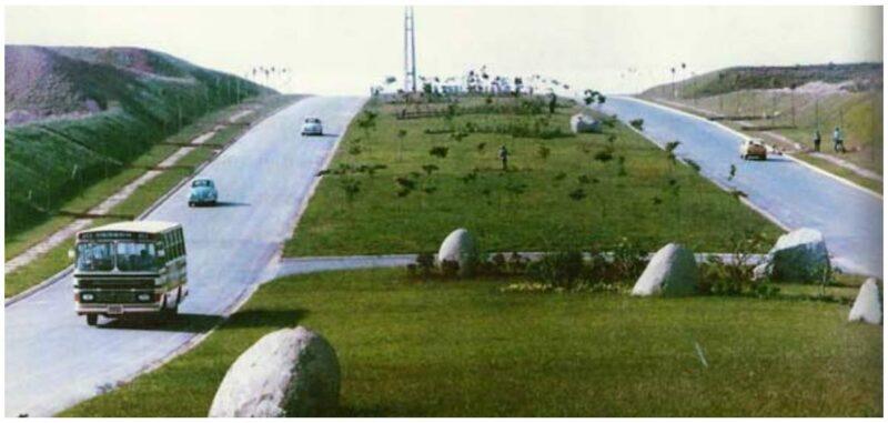 Alphaville: alameda Rio Negro em 1975